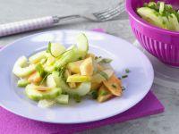Papaya Salad with Cucumber recipe