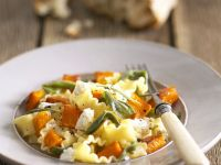 Pappardelle Pasta with Carrots recipe