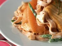 Pappardelle with Salmon recipe