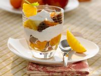 Parfaits with Citrus and Red-wine Stewed Figs recipe