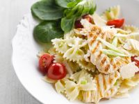 Parmesan Pasta with Chicken recipe