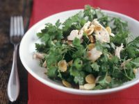 Parsley and Almond Salad recipe