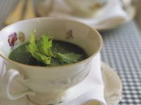 Parsley Soup with Potatoes recipe