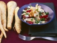 Parsnip and Apple Salad with Creamy Vinaigrette recipe