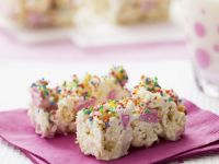 Party Popcorn Slices recipe
