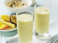 Passionfruit and Yoghurt Drink recipe