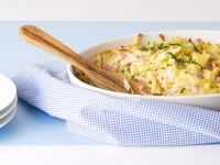 Pasta and Pork Gratin recipe
