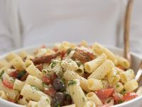 Pasta and Tomato Salad recipe
