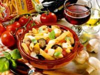 Pasta and Vegetable Bake recipe