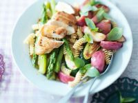Pasta and Vegetable Salad with Chicken Breast recipe