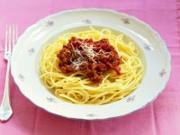 Pasta Bowl with Meat Sauce recipe