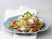 Pasta Caprese with Arugula recipe