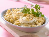 Pasta Gratin with Goat Cheese recipe