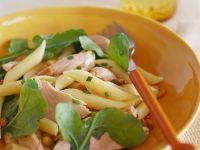 Pasta Salad with Arugula and Tuna recipe
