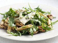 Pasta Salad with Arugula, Walnuts and Blue Cheese recipe