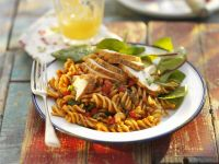 Pasta Salad with Chicken, Tomatoes and Basil recipe
