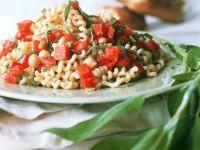 Pasta Salad with Chickpeas recipe
