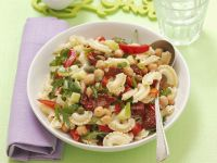 Pasta Salad with Chickpeas and Capers recipe