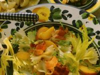 Pasta Salad with Fruit and Bacon recipe