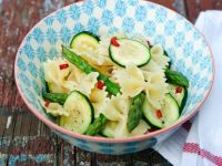 Pasta Salad with Green Vegetables recipe