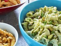 Pasta Salad with Peas and Pistachios recipe