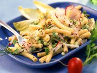 Pasta Salad with Radishes recipe