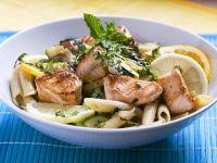 Pasta Salad with Salmon, Herbs and Lemon recipe