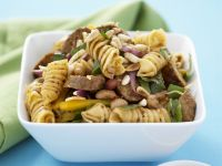 Pasta Salad with Sausage and Pine Nuts recipe