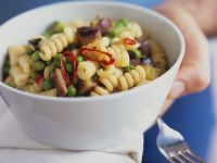 Pasta Salad with Sweet Potatoes recipe