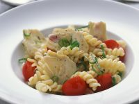 Pasta Salad with Tomatoes and Artichokes recipe