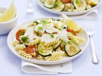 Pasta Salad with Vegetables and Parmesan recipe