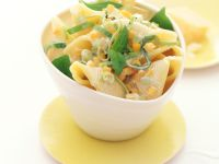 Pasta Shells with Pumpkin Sauce recipe
