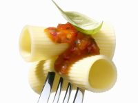 Pasta Tubes with Spicy Sauce recipe