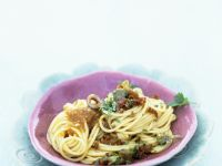 Pasta with Anchovies and Capers recipe