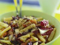 Pasta with Bacon and Radicchio recipe