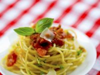 Pasta with Bologna-style Sauce recipe