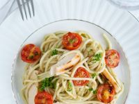 Pasta with Chicken and Tomatoes recipe