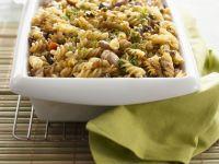 Pasta with Chicken, Vegetables, and Mozzarella recipe