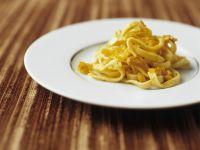 Pasta with Cod and Saffron recipe