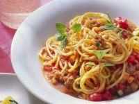 Pasta with Cream Bolognese recipe