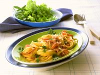 Pasta with Fennel and Ham recipe