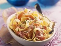 Pasta with Grey Mullet Roe recipe