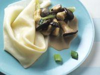 Pasta with Mushroom Sauce recipe