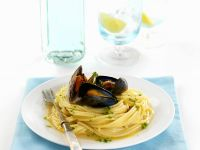 Pasta with Mussels and Clams recipe