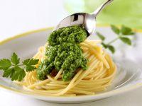 Pasta with Parsley Pesto recipe
