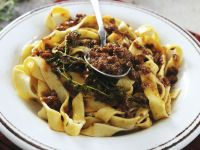 Pasta with Rabbit Ragout recipe