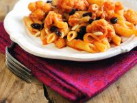 Pasta with Raisins, Onions and Cauliflower recipe