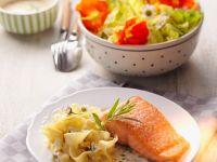 Pasta with Salmon recipe