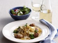 Pasta with Sausage, Fennel and Parmesan recipe