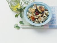 Pasta with Seafood and Mint recipe